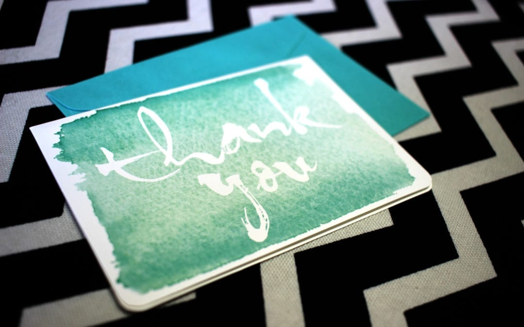 Feeling unappreciated? Gratitude is the solution