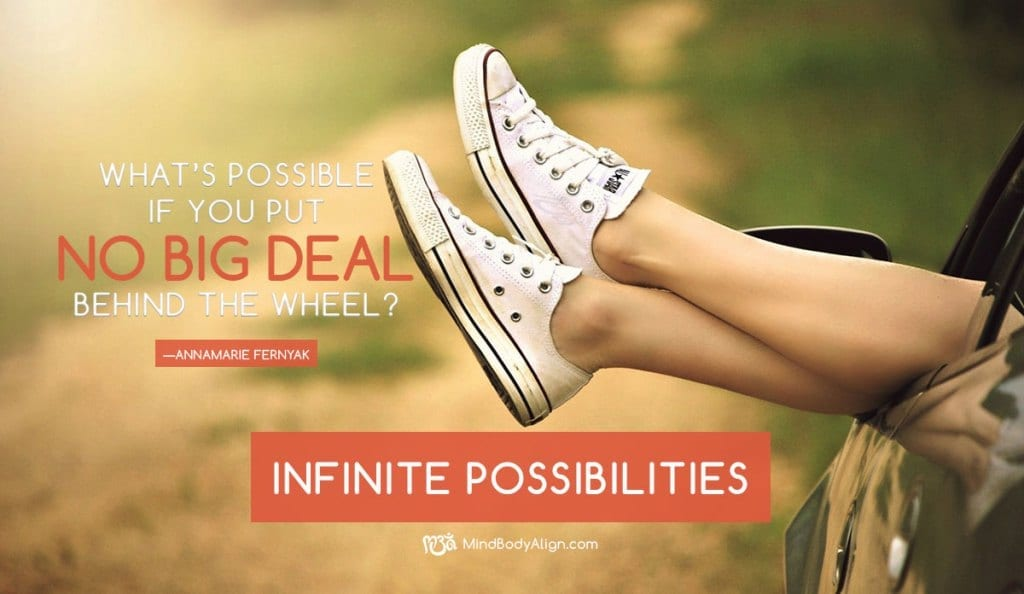 Living your dream with infinite possibilities