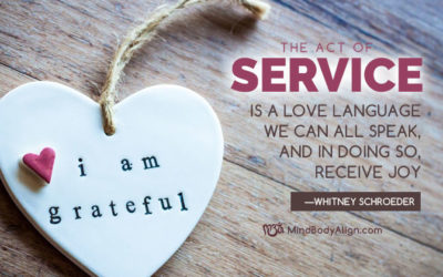 Service is a love language