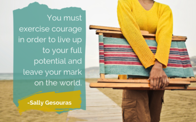 Showing Up – The Courage to Leave your Mark on the World