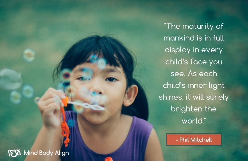 Every Child is Potentially the Light of the World.