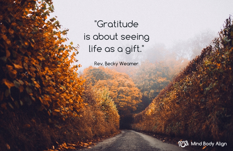 Grateful for the Gift