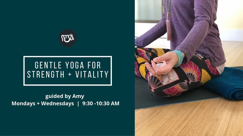 gentle yoga for strength and vitality