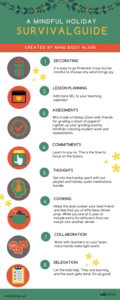 8 steps to reduce holiday stress