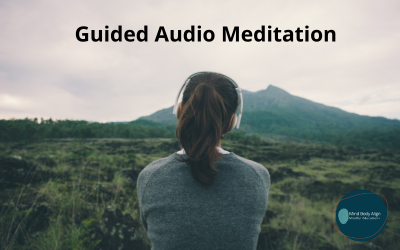 Leads to guided audio meditation