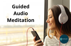 To lead you to a guided audio meditation