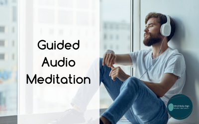 A guided audio meditation about mindfulness and gratitude